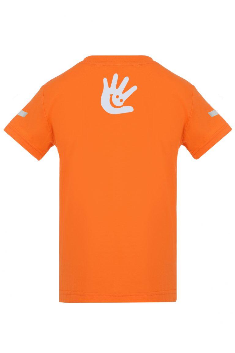 Детски T-shirt със светлоотразителни стикери
