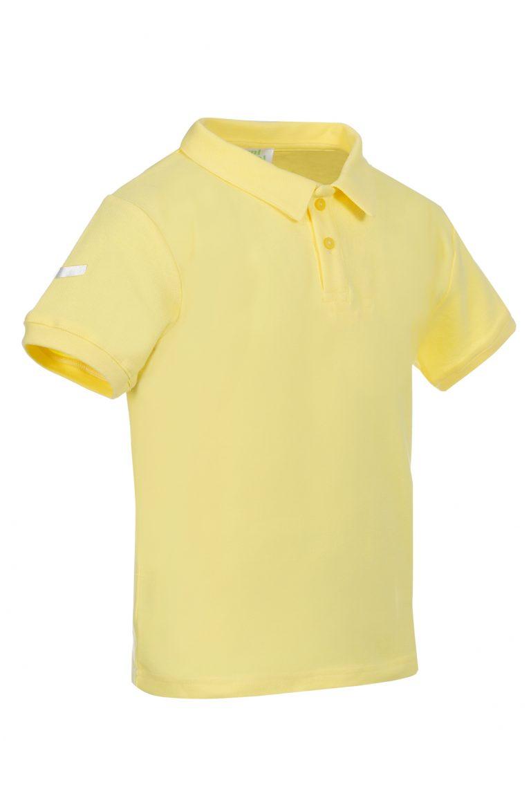 Дамска тениска POLO  със светлоотразителни стикери