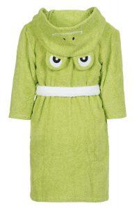 Персонализиран, бродиран детски халат жаба - 0