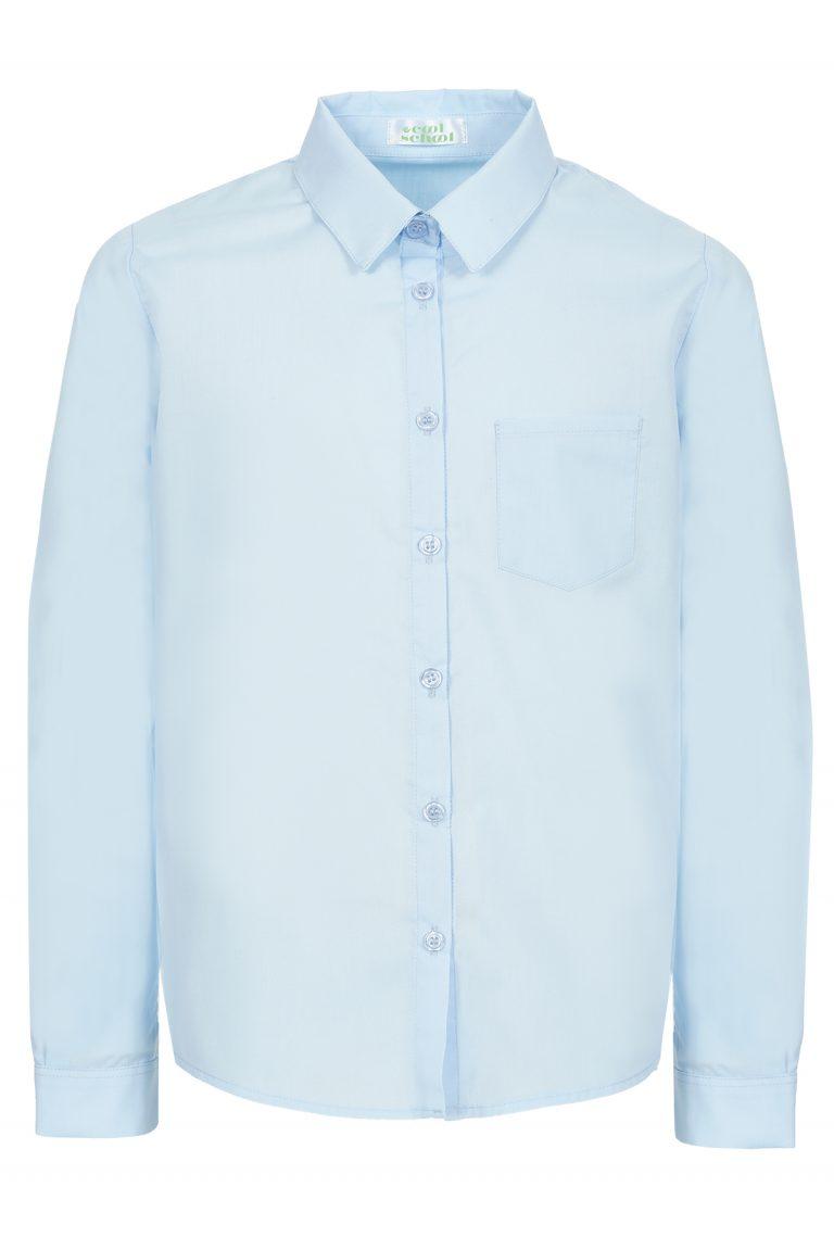 Дамска риза Оксфорд дълъг ръкав