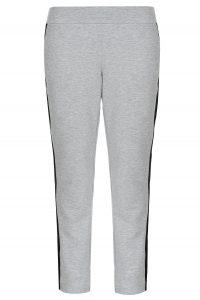 Дамски джогинг панталони с контрастен кант - 3
