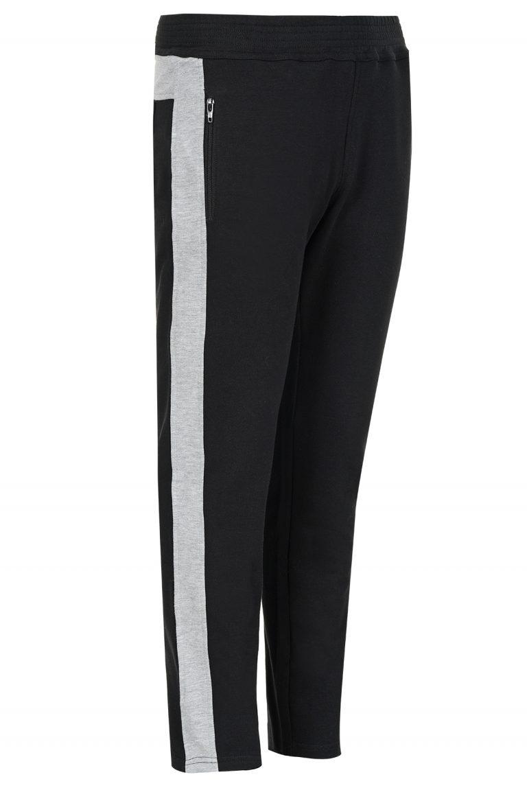 Дамски джогинг панталони с контрастен кант