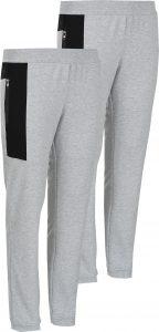Комплект панталони джогинг в сив цвята