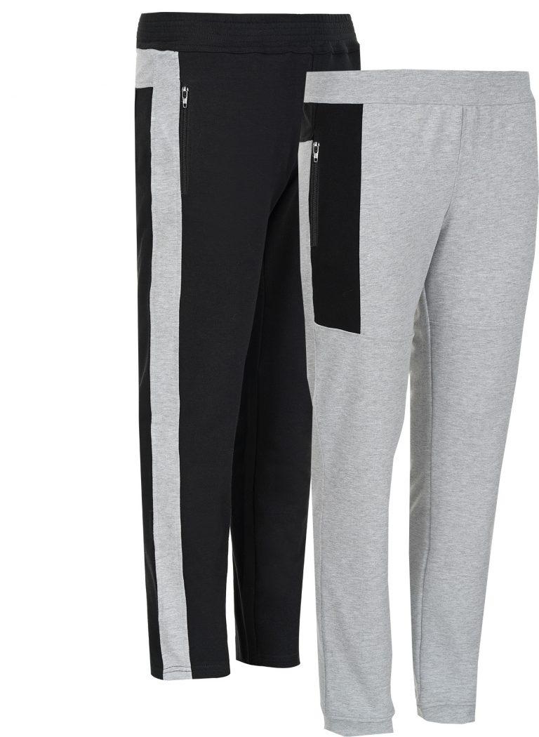 Два различни панталона в два цвята
