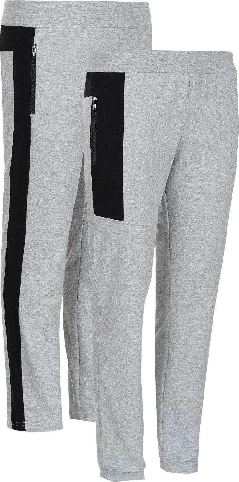 Два различни панталона в един цвят