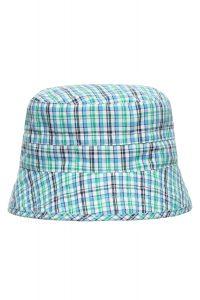 Слънцезащитна двулицева шапка Sаfari-green UPF 30+ - 0
