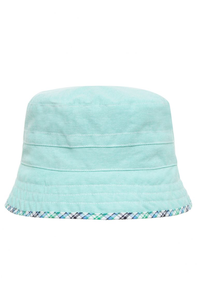 Слънцезащитна двулицева шапка Sаfari-green UPF 30+