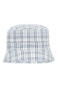 Слънцезащитна двулицева шапка Sаfari- blue UPF 30+ - 0