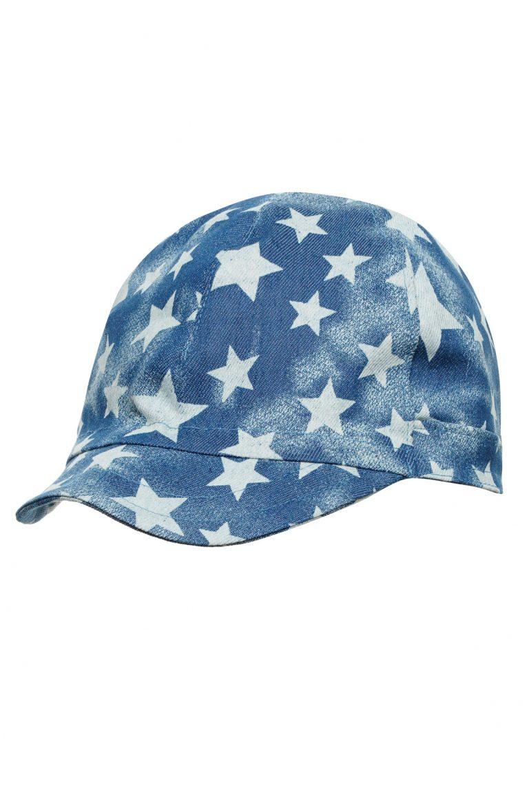 Дънкова Бейзболна шапка с мека козирка