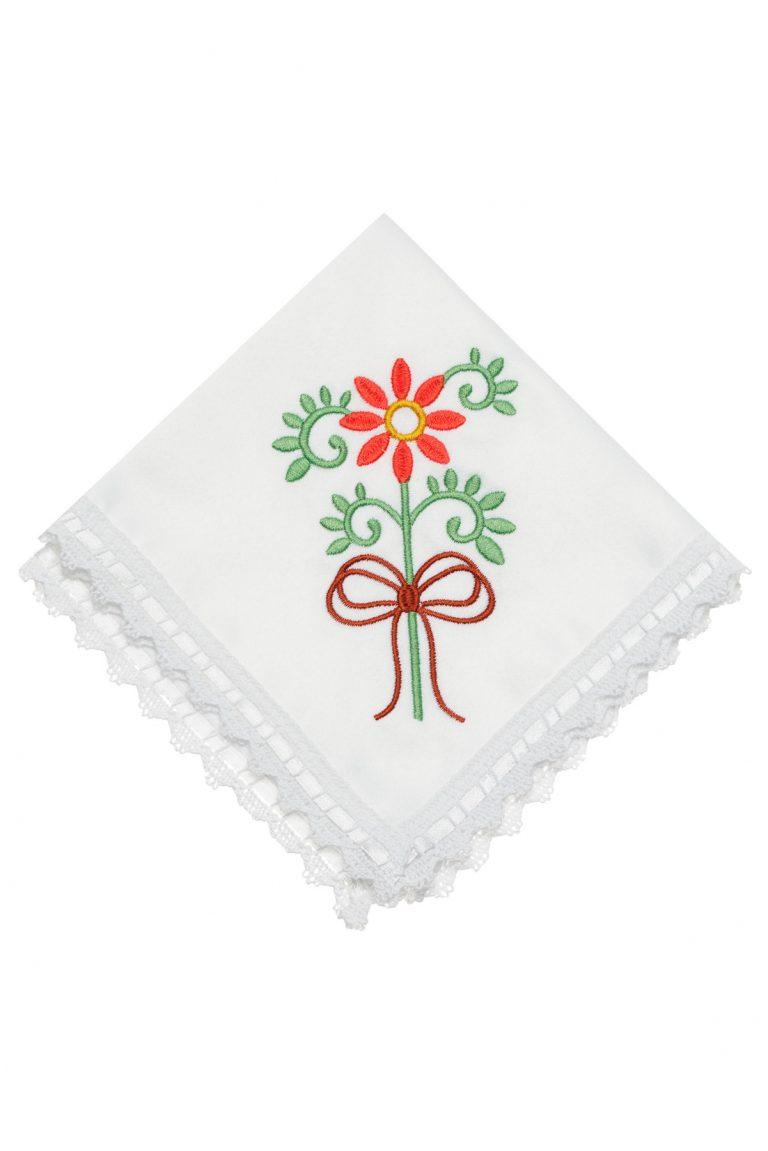 Сет празнични бродирани салфетки за маса